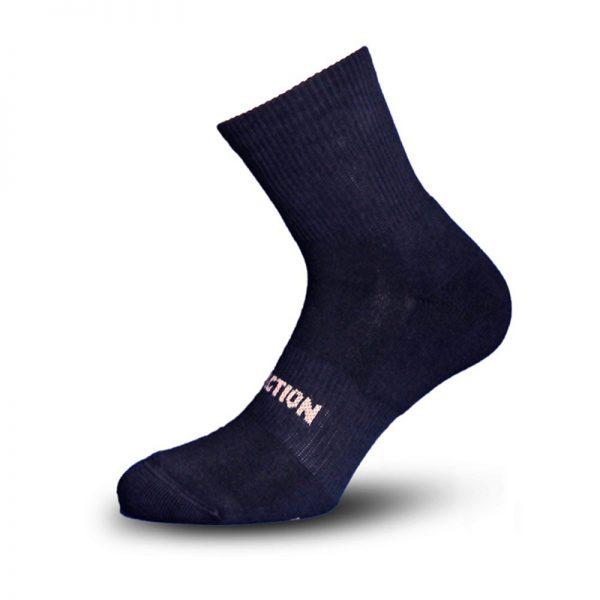 Κάλτσα Αθλητική W121 Μαύρο Walk