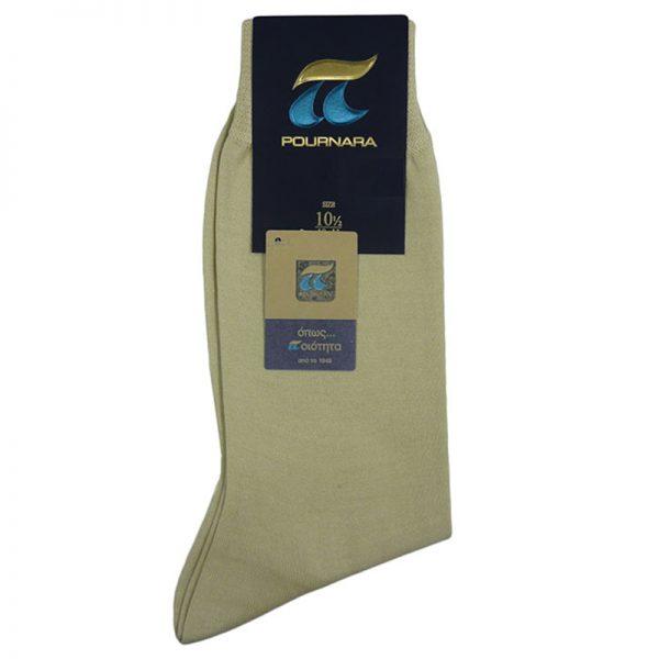 Κάλτσα Βαμβακερή 110 Μπέζ Ανοιχτό Πουρνάρα