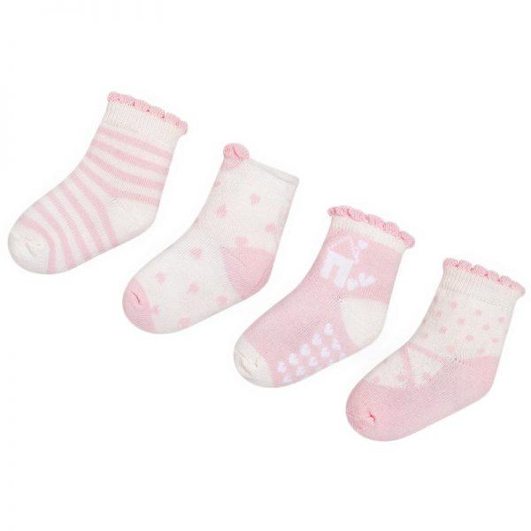 Κάλτσα 18-09896-082 Ρόζ Mayoral (Σετ 4 τεμαχίων)