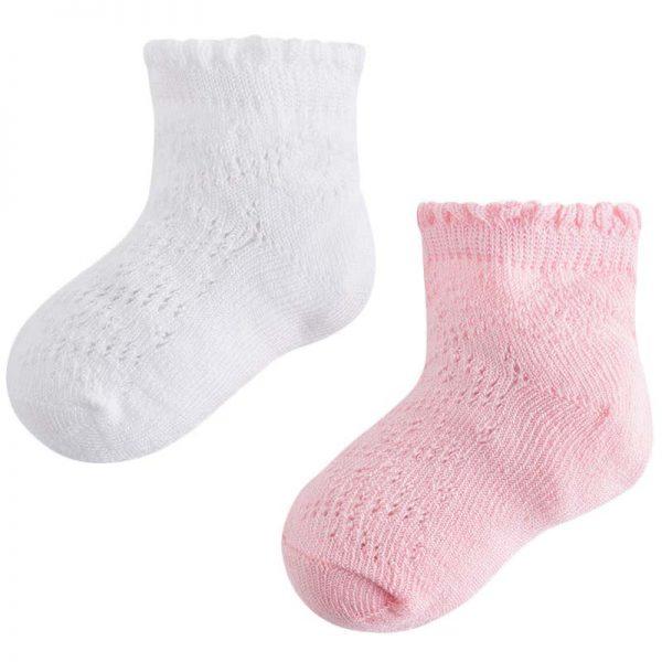 Κάλτσα 28-10398-063 Ρόζ Mayoral (Σετ 2 τεμαχίων)