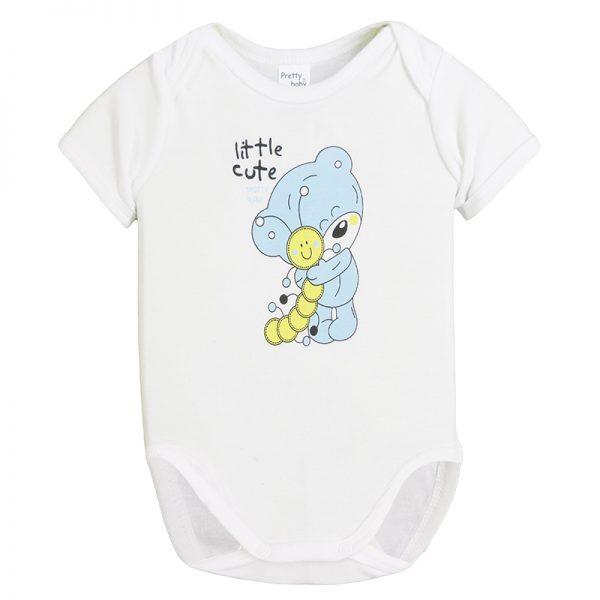 Κορμάκι 34571-1 Λευκό Pretty Baby