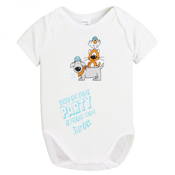 Κορμάκι 34571-3 Λευκό Pretty Baby