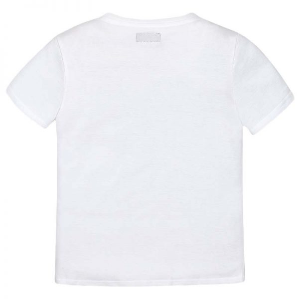 Μπλούζα 28-06084-056 Λευκό Mayoral_2