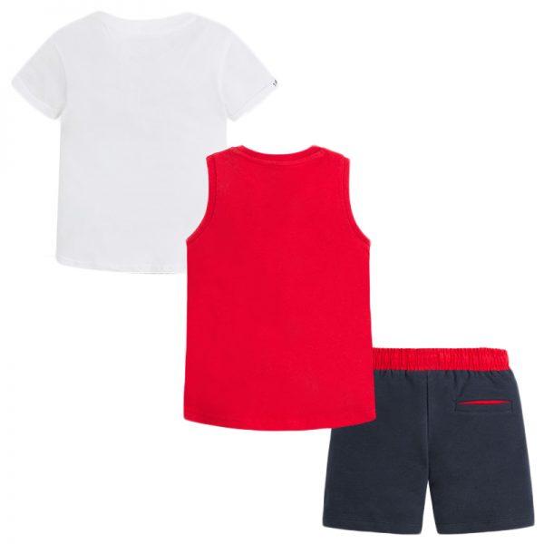 Σετ 28-03614-023 Κόκκινο Mayoral (Με 2 μπλούζες)_2