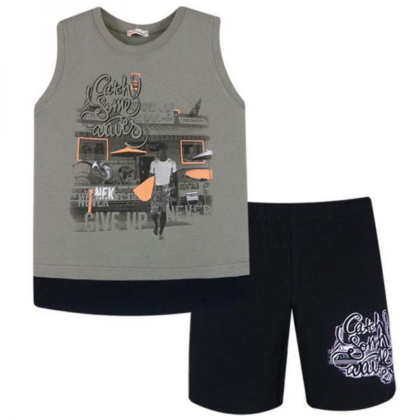 Σετ 62818 Μαύρο Nek Kidswear