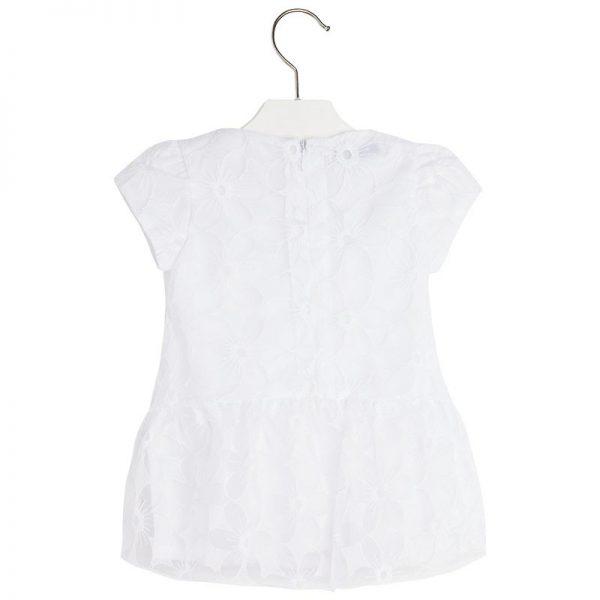 Φόρεμα 25-01931-061 Λευκό Mayoral_2