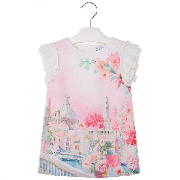 Φόρεμα 27-03949-048 Ρόζ Mayoral