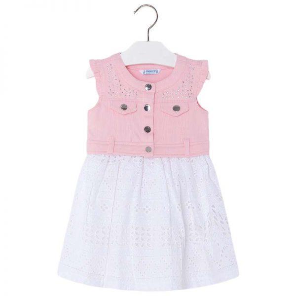 Φόρεμα 28-03976-029 Ρόζ Mayoral