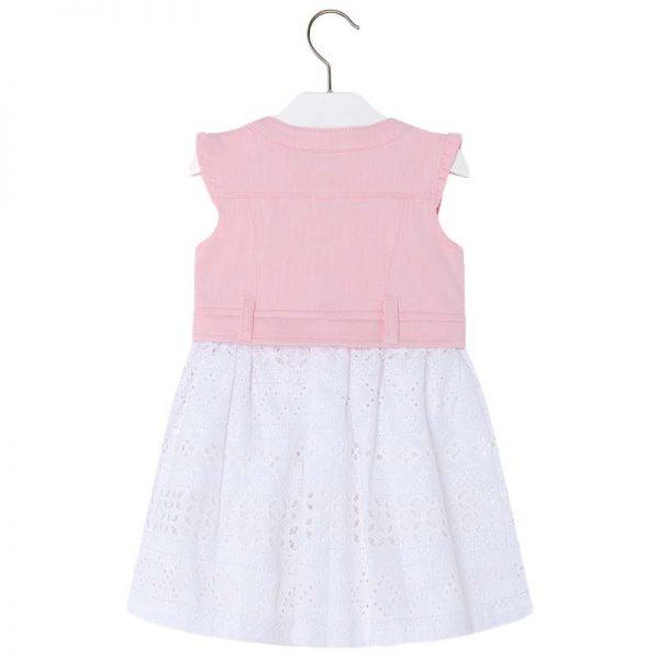 Φόρεμα 28-03976-029 Ρόζ Mayoral_2