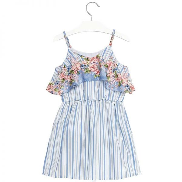 Φόρεμα 28-06952-019 Μπλέ Mayoral_2