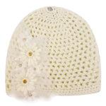 Καπέλο Πλεκτό 08811 Εκρού Gerafino