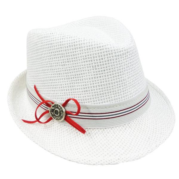 Καπέλο 8418 Λευκό Gerafino