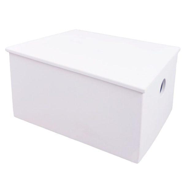 Κουτί Ξύλινο 802 Λευκό Sgc