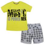 Σετ 43719 Κίτρινο Nek Kidswear