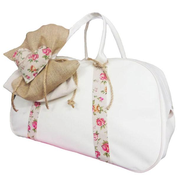 Τσάντα 11711 Καρδιά Λευκό Zaxos