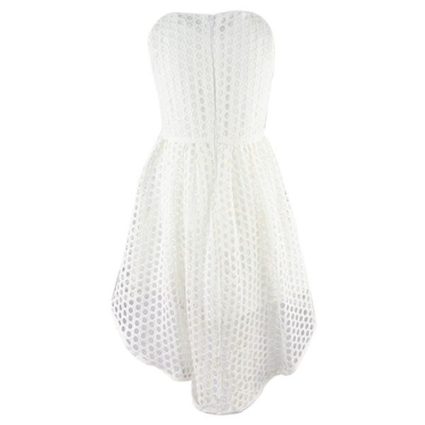 Φόρεμα 198003 Εκρού Εβίτα_2