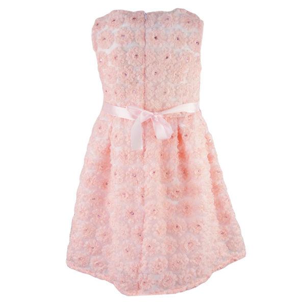 Φόρεμα 198005 Ρόζ Εβίτα_2