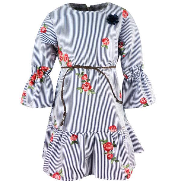 Φόρεμα 198022 Μπλέ Εβίτα