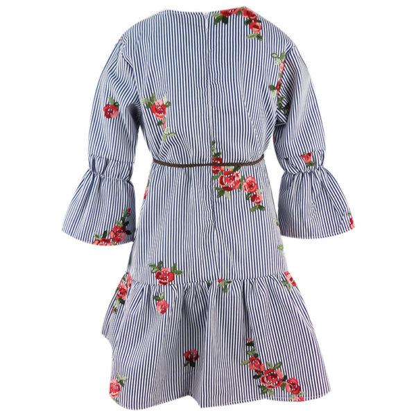 Φόρεμα 198022 Μπλέ Εβίτα_2