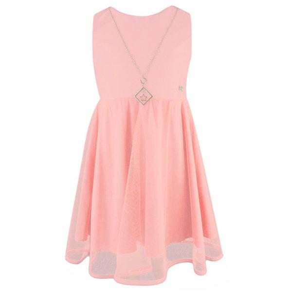 Φόρεμα 198069 Ρόζ Εβίτα