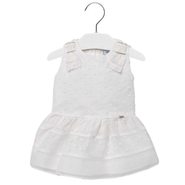 Φόρεμα 29-01907-015 Εκρού Mayoral
