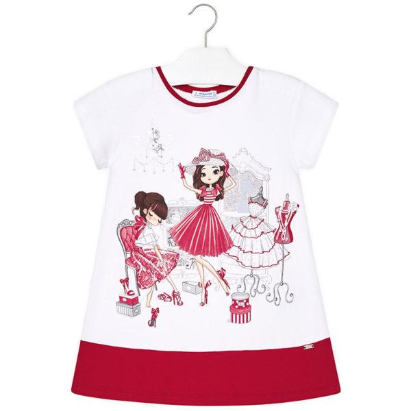 95b2f74d8e6d Φόρεμα 29-03945-075 Κόκκινο Mayoral - Gorakis.gr
