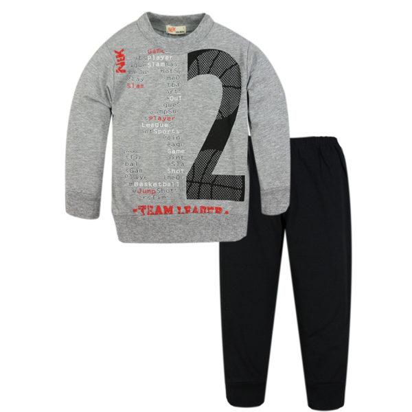 Φόρμα Λεπτή 44419 Γκρί Nek Kidswear