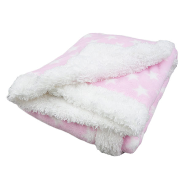 Κουβέρτα Αγκαλιάς Fleece 092 Ρόζ Borea