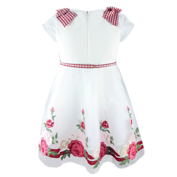 Φόρεμα 198272 Κόκκινο Εβίτα_2