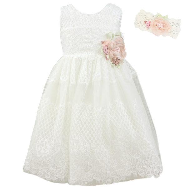 Φόρεμα K4273 Εκρού Mi Chiamo