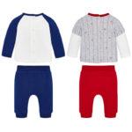 Φόρμα 18-02624-079 Κόκκινο Mayoral (Με 2 μπλούζες και 2 παντελόνια)_2