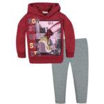 Φόρμα 141319 Μπορντό Nek Kidswear