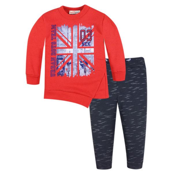 Φόρμα 142719 Κόκκινο Nek Kidswear