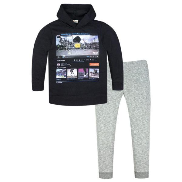 Φόρμα 161419 Μαύρο Nek Kidswear