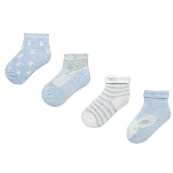 Κάλτσα 19-09171-046 Σιέλ Mayoral (Σετ 4 τεμαχίων)