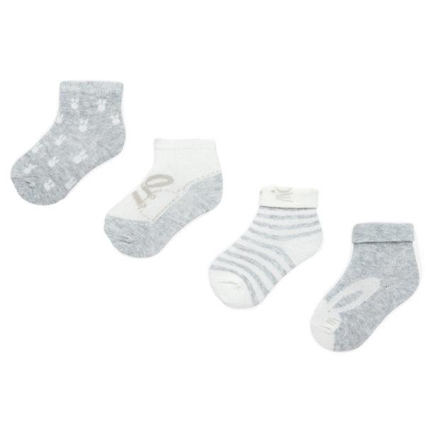 Κάλτσα 19-09171-048 Γκρί Mayoral (Σετ 4 τεμαχίων)