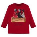 Μπλούζα 19-02024-080 Κόκκινο Mayoral
