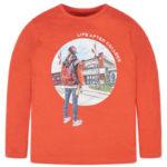 Μπλούζα 19-07024-083 Πορτοκαλί Mayoral