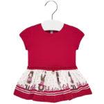 Φόρεμα 19-02921-012 Κόκκινο Mayoral