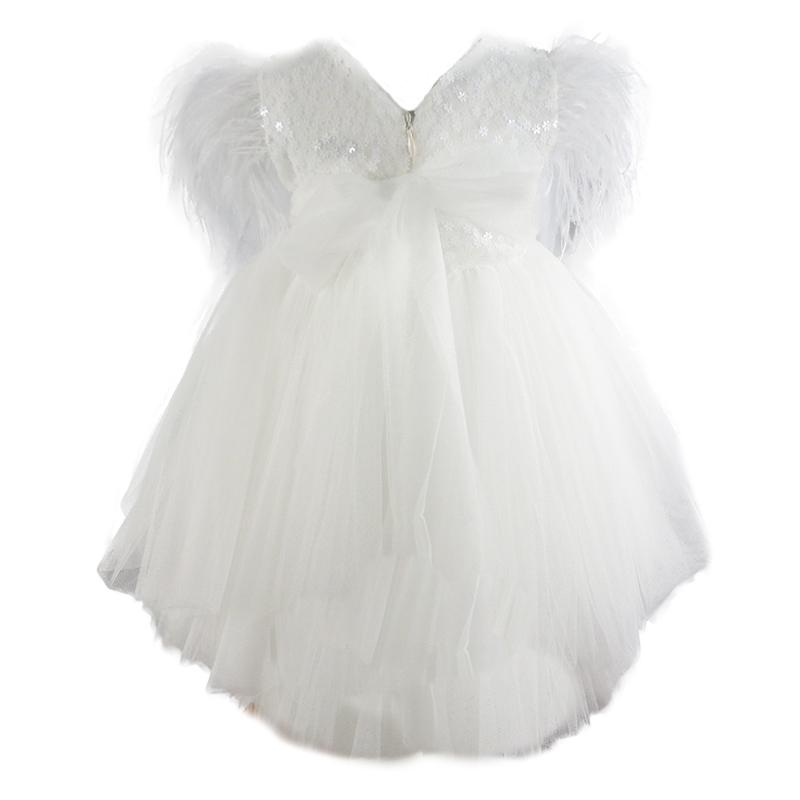 Φόρεμα K4277 Εκρού Mi Chiamo_2