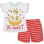 Πυτζάμα 65514 Κόκκινο Pretty Baby