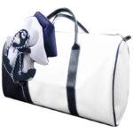 Τσάντα 41614 Άγκυρα Λευκό-Μπλέ Σκούρο Zaxos