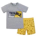 Σετ 42921 Γκρί Nek Kidswear