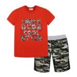 Σετ 62421 Κόκκινο Nek Kidswear